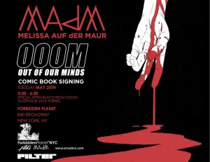 MAdM-COMIC NYC FLYER